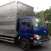 Xe tải Hyundai HD72 Đồng Vàng thùng kín đời 2015