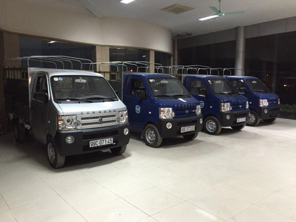 Lô 3 xe tải dongben mui bạt bán về Bắc Ninh đầu 2015