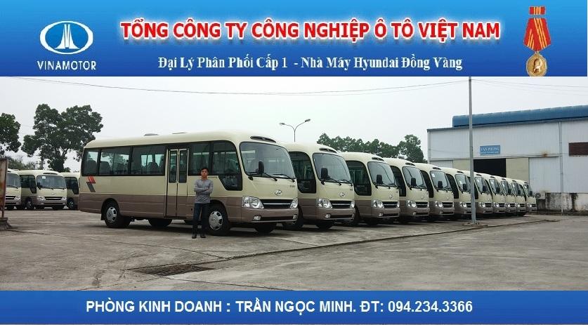 Hyundai County Đồng Vàng