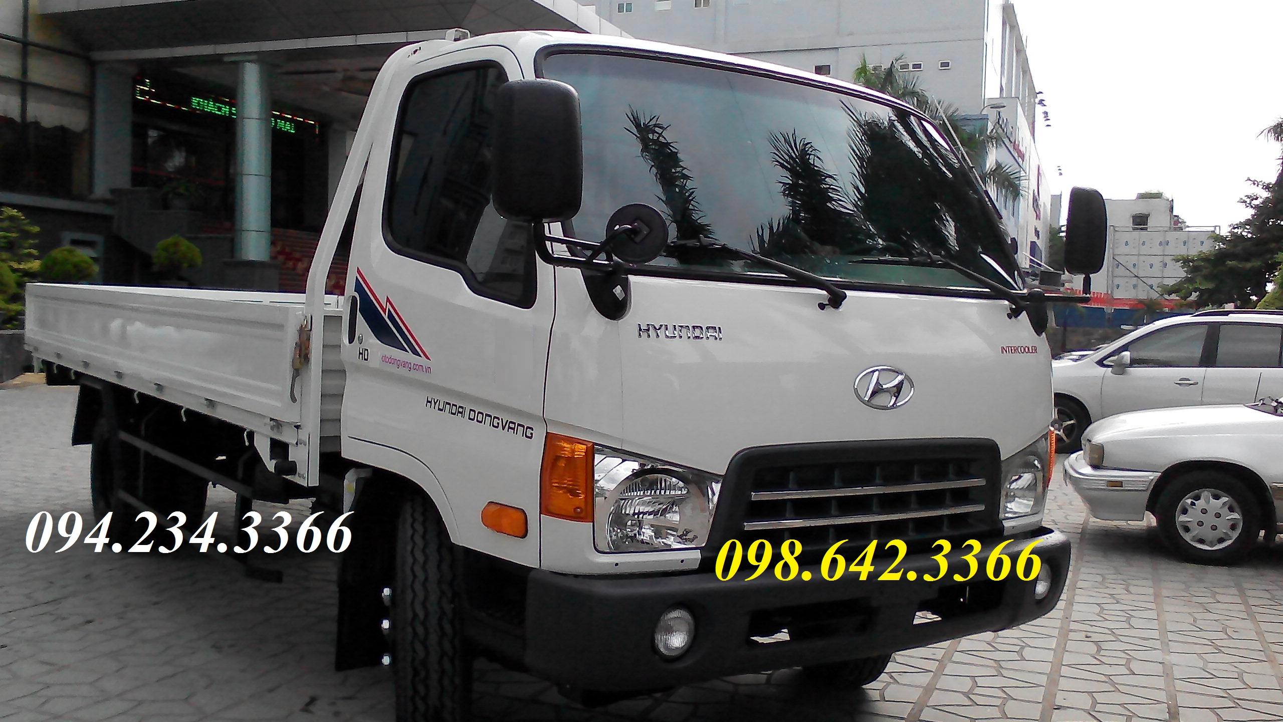 Hyundai hd700 thùng lửng 7 tấn