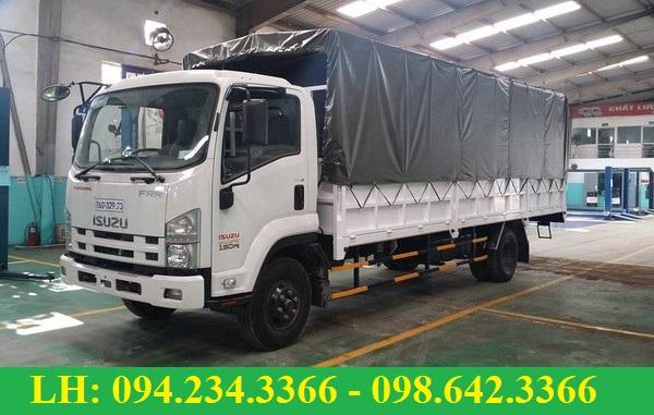 xe tải isuzu Vĩnh Phát thùng mui bạt
