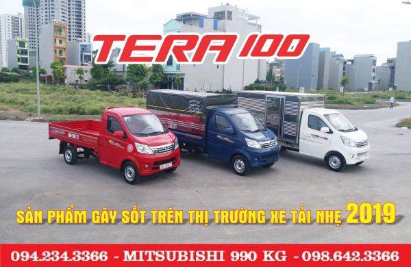 Đại lý xe tải tera 100