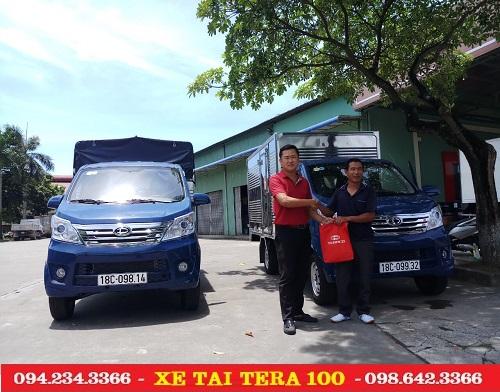 Xe tải teraco 990 kg bán về Nam Định