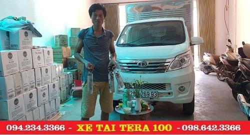Xe tải Mitsubishi 990 kg giao cho khách hàng Hà Nội