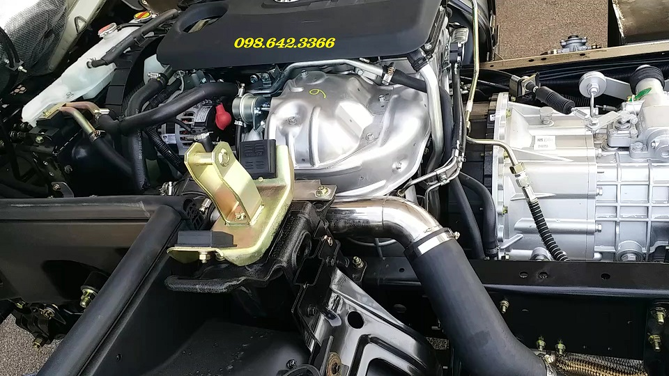 Động cơ xe tải 6 tấn Nissan K6 đồng vàng