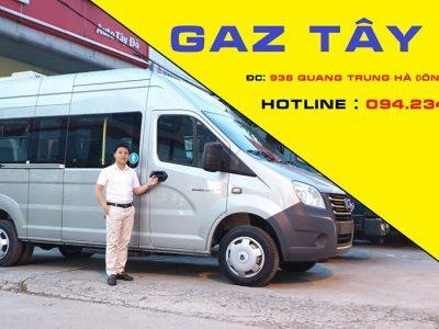 Xe khách 17 chỗ Gaz Nga – Gazelle Next nhập khẩu.