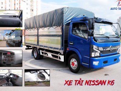 Xe tải 6 tấn Nissan K6 Đồng Vàng