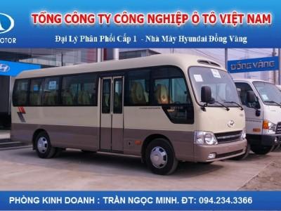 Xe khách 29 chỗ Hyundai County Đồng Vàng