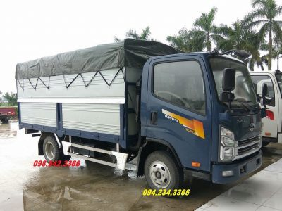 Siêu phẩm xe tải Isuzu 2.4 tấn Daehan Tera 240L