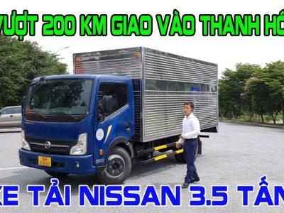 XE TẢI 3.5 TẤN NISSAN ĐỒNG VÀNG NS350